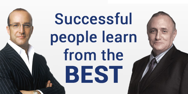 Successful people learn from the BEST