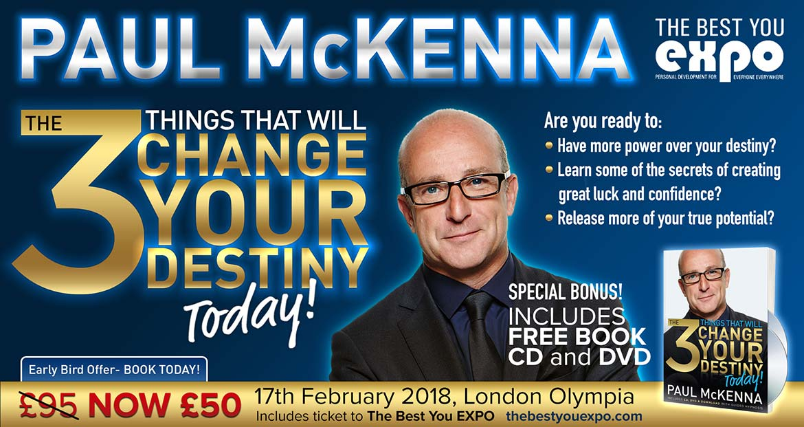 Paul McKenna Seminar at the Main Stage of The Best You Expo