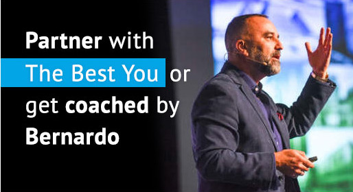 Partner with The Best You or get coached by Bernardo