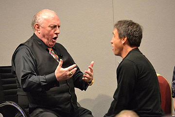 Richard Bandler training a student in his own inimitable style