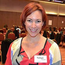 Tanya Franks is delighted to have banished her fear of spiders