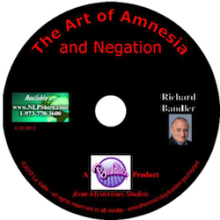CD Richard Bandler - The Art of Amnesia and Negation