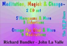 CD Richard Bandler - Meditation, Magic & Change