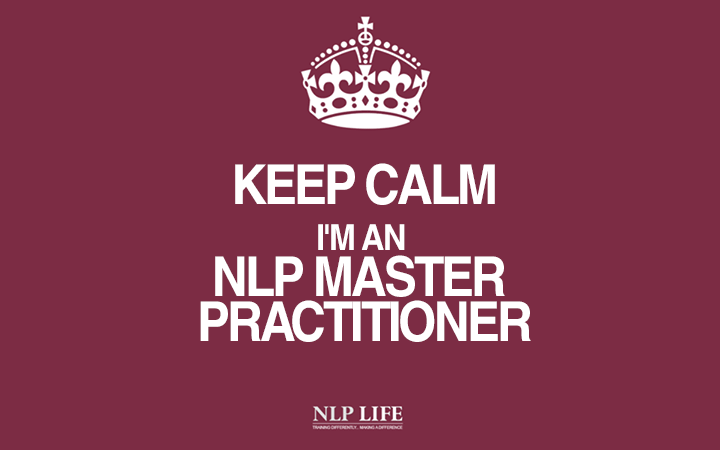 Keep Calm I'm a Master Practitioner