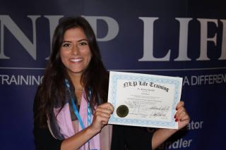 Certified as Licensed Practitioner of NLP
